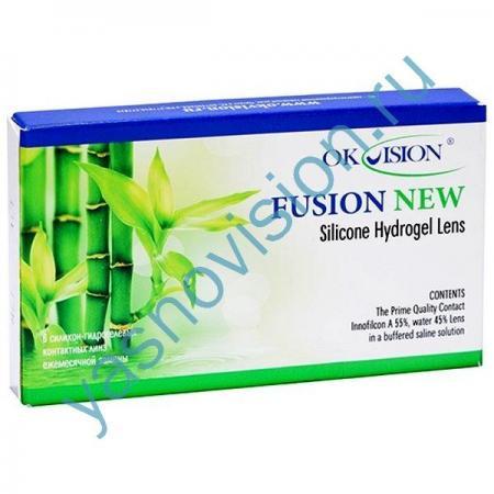 контактные линзы Fusion NEW